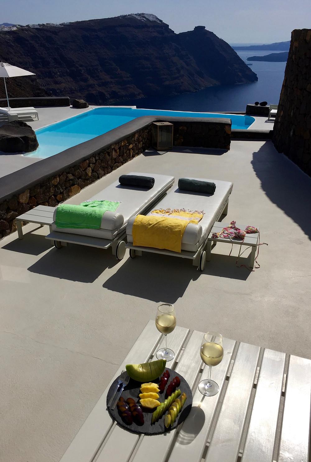 View from Villa Feggeri, Aenaon Villas