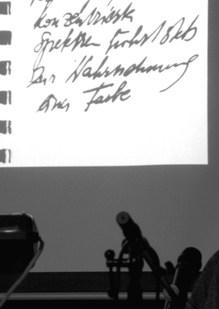 LOGOtheSEN I. im Theater Phönix 2019. Wally Rettenbacher