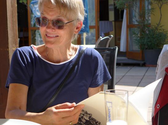 Mittagessen und Art Talk  im Gasthaus Maut