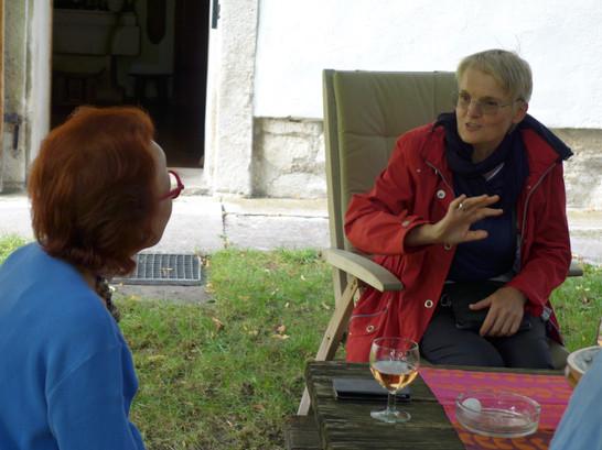 Freilichtmuseum in Winden am See, Nachmittagsbesuch bei Frau Bertoni