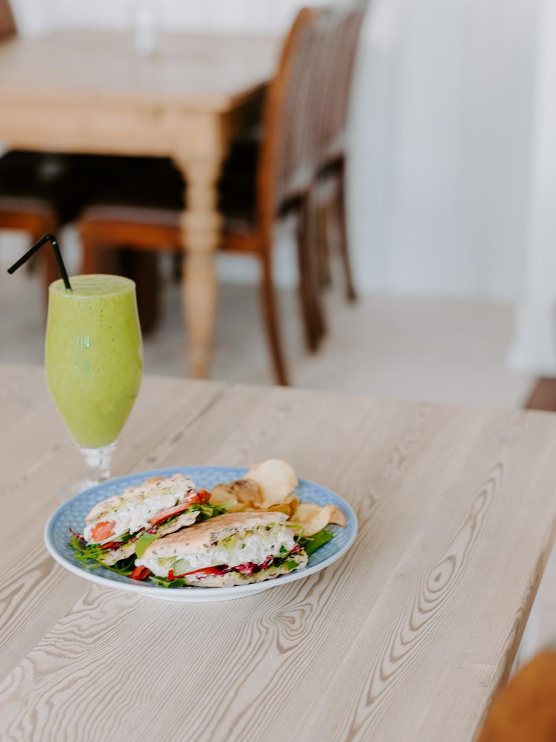 Juice og Sandwich