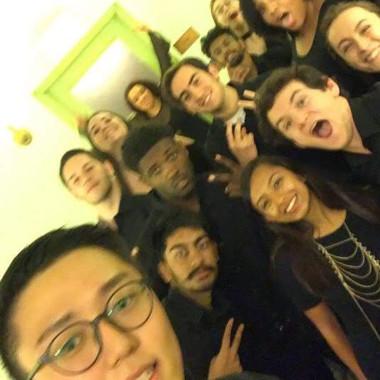 Pre-concert selfie (Fall 2018)