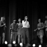 Teddi Reynolds performing Longest Time by Billy Joel at the 2018 Fall Concert: Walgreenes