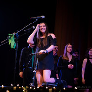 Sarah Kleppe performing the ICCA Set at the 2018 Fall Concert: Walgreenes