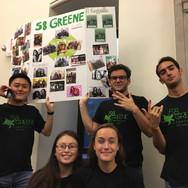 Greenies getting ready for Festifall in Lorch Hall (Fall 2019)
