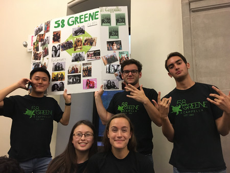 Greenies excited for Acarush (Fall 2019)