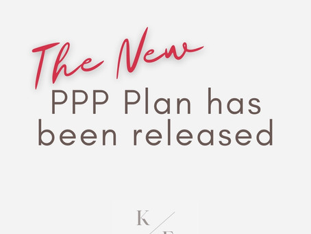 The New PPP Plan Has Been Released