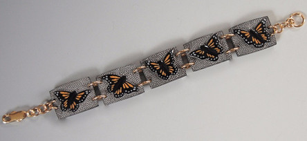 Monarchs in Flight Bracelet