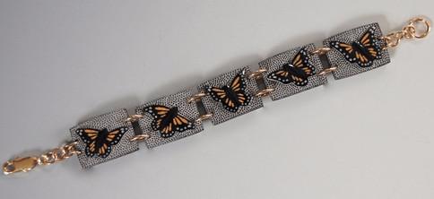 Monarchs in Flight Bracelet