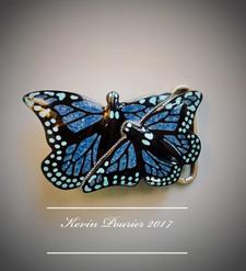 """""""Monarch Migration"""" Belt Buckle"""