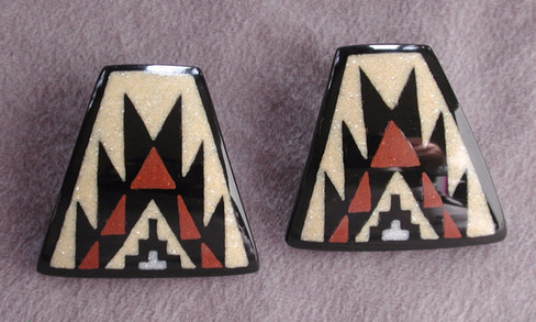 Geometric Design Earrings