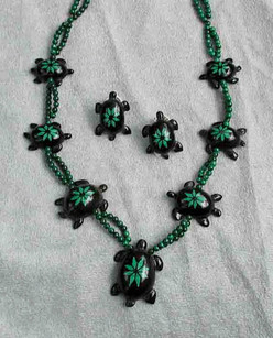 Earth Turtles Necklace