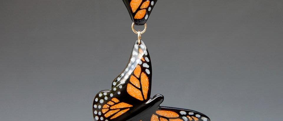 Large Monarch Pendant