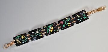 Prairie Flowers Link Bracelet
