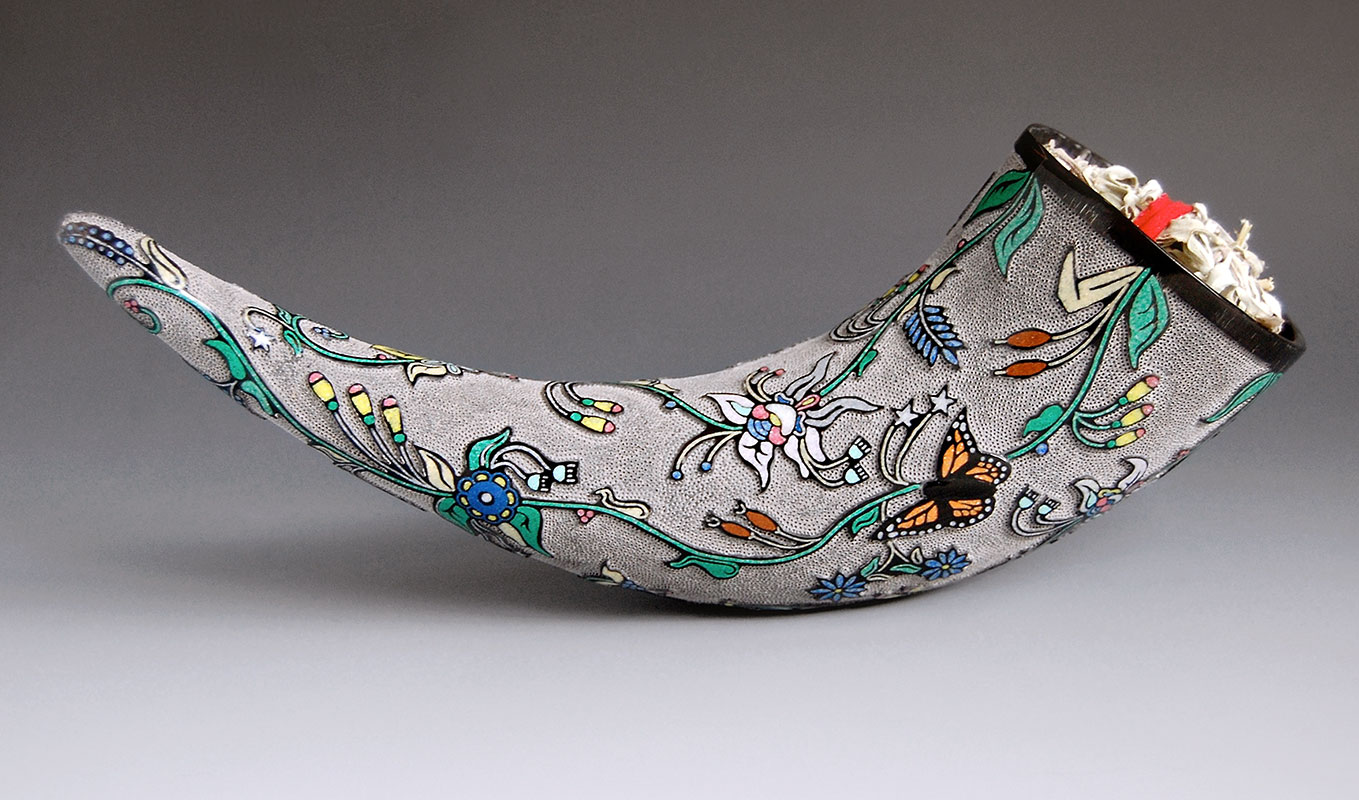 dakota-floral-horn-cup-by-kevin-pourier