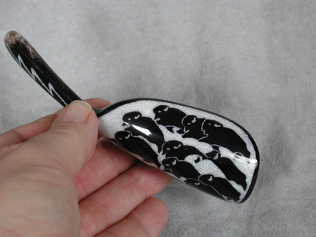 Itty Bitty Buffalo Horn Spoon