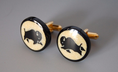 Buffalo Cuff Links