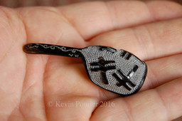 Dragonfly Buffalo Horn Spoon
