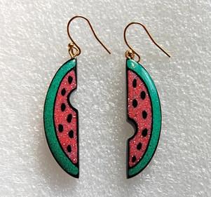 """""""Watermelon Earrings"""","""