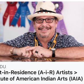 "AiR ""Artist in Residence"" Institute of American Indian Art"