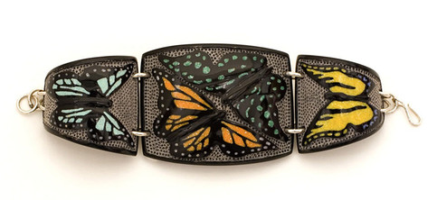 Butterflies Link Bracelet,