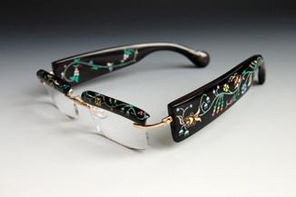 Buffalo Horn Rimmed Glasses