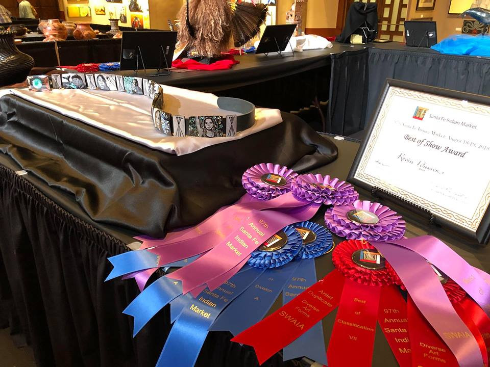 Best of Show art and all the ribbons!