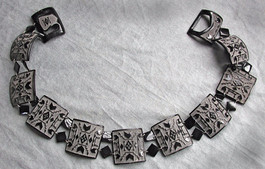 Beadwork Design Belt