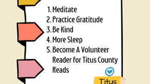 Titus County Reads is back and we need you! 📚