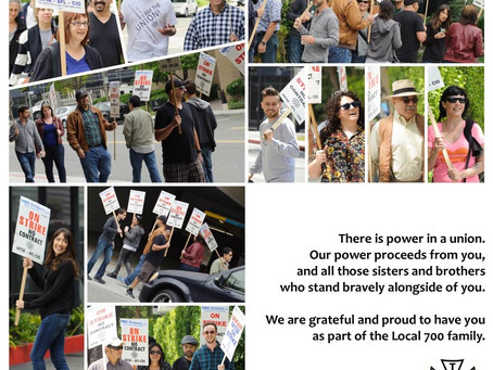 Grateful and Proud: Local 700 Salutes Our Picket Volunteers