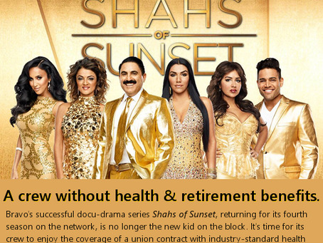 """Ryan Seacrest Productions, Bravo, and """"Shahs of Sunset"""""""