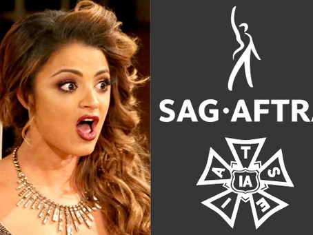 """SAG-AFTRA stands in solidarity with the IATSE and """"Shahs"""" crew!"""