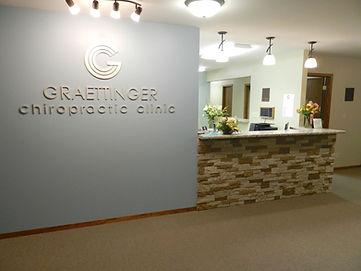 Graettinger Chiropractic Receptionist Desk