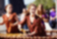 Marimba chant des lames