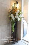 マンションエントランス花装飾