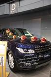輸入車ショー広島花装飾
