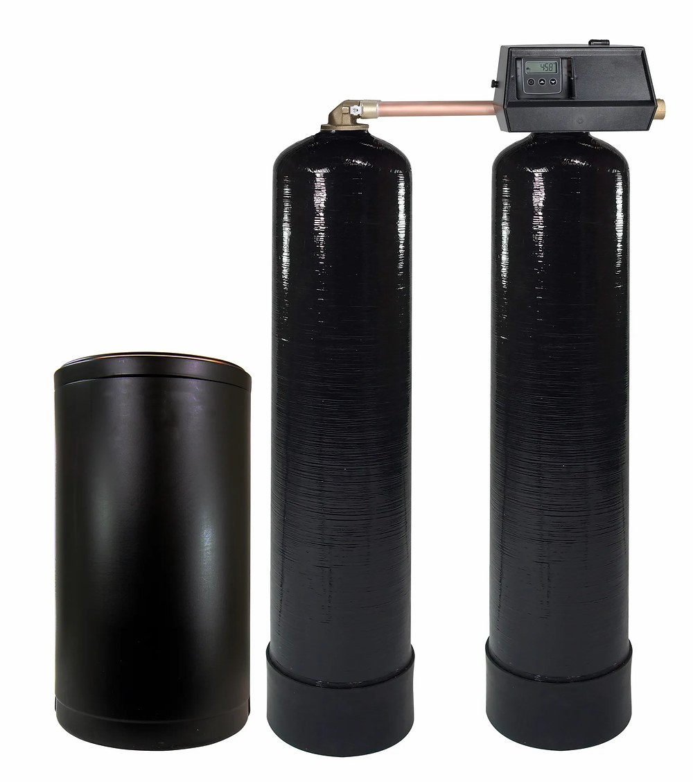 Hard Water. Water softeners remove hard water minerals, giving your home completely soft water.