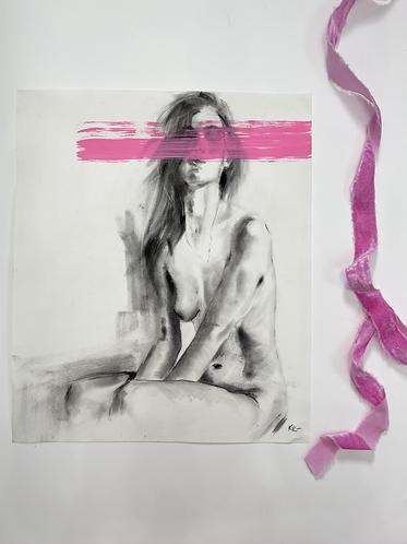 Pink Figure Study- II