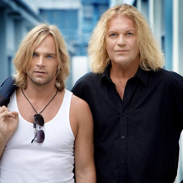 Tim Wilhelm und Aron Strobel