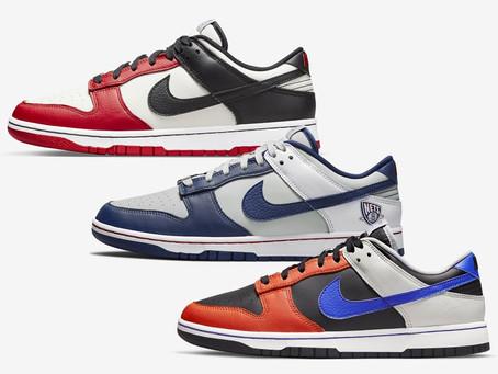 "NBA x Nike Dunk Low ""75th Anniversary"" 聯名系列即將登場"