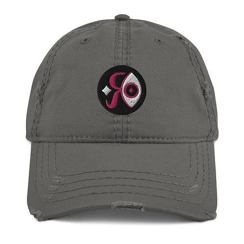RI Logo Distressed Dad Hat