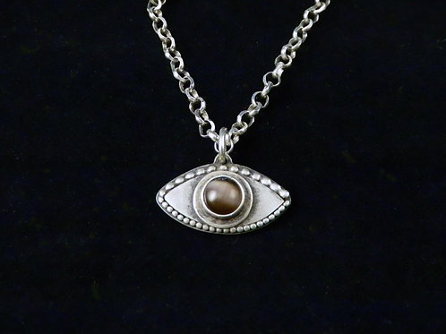 CAT'S EVIL EYE NECKLACE