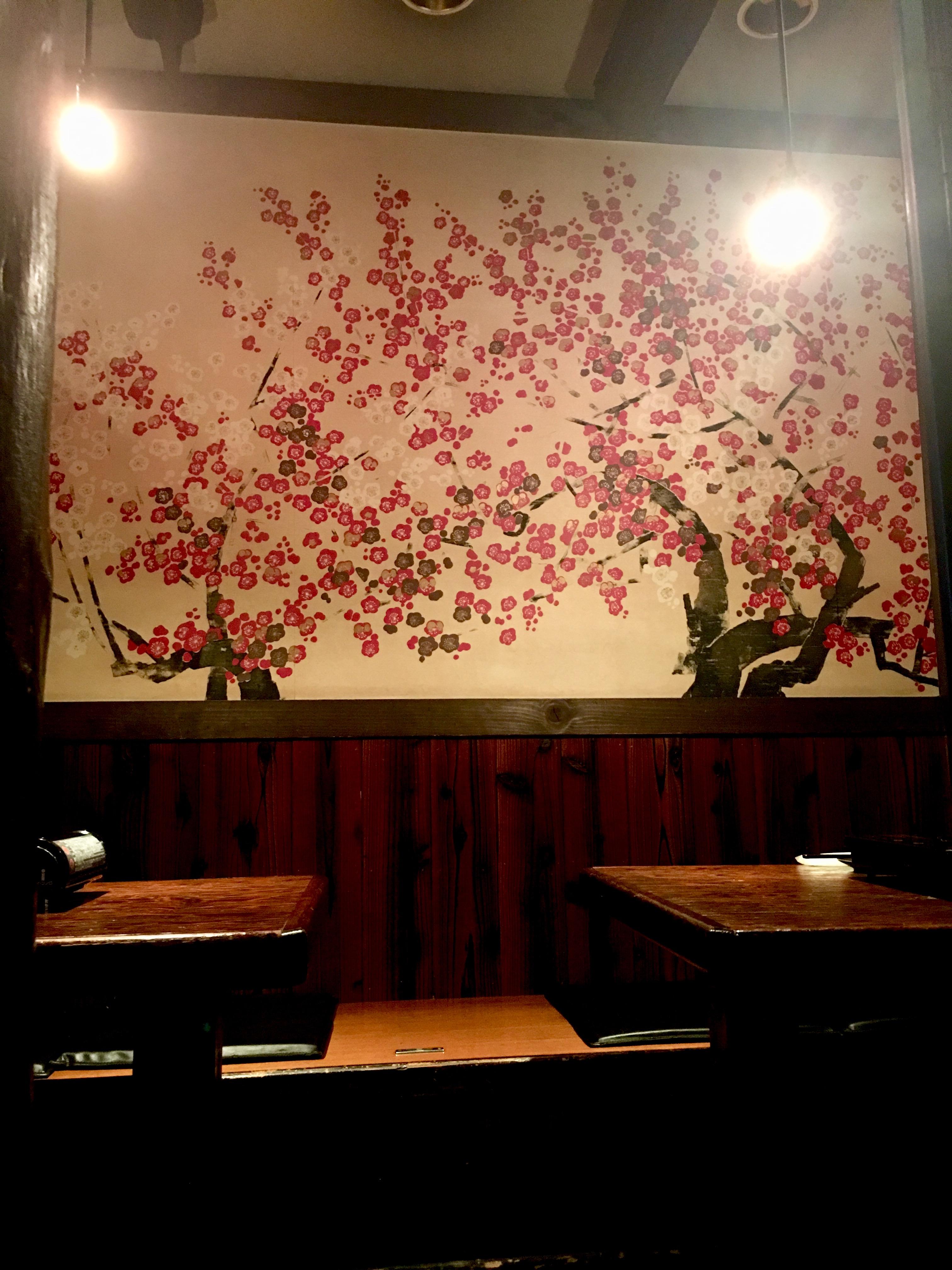 個室風テーブル席
