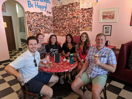Creole Creamery Lab Outing