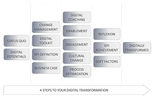 Vorgehensmodell | Digitale Transformation