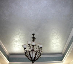 Blue Lusterstone Tray Ceiling