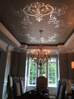 Hasentree Silver Modello Ceiling