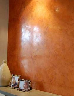 Copper Venetian Plaster