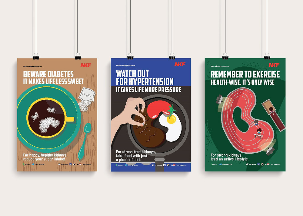 NKF Healthy Monday Posters