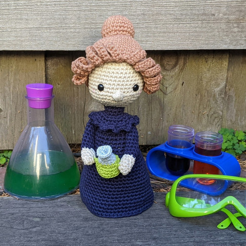 Marie Curie Doll